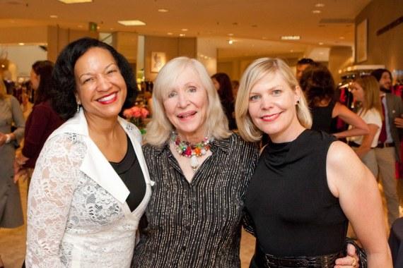 Karen Clopton, Ann Seymour, Susan Boedy