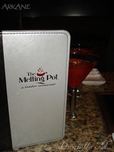 The Melting Pot with My Raspberry Limoncello Martini