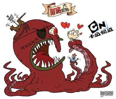 卡通頻道最新原創卡通《阿嗨大冒險》引領海上瘋狂大探險! - Orzmovies.com彌勒熊電影UDN - udn部落格