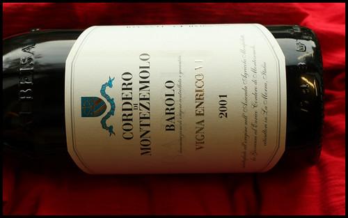 Cordero Montezemolo Vigna Enrico VI Barolo 2001
