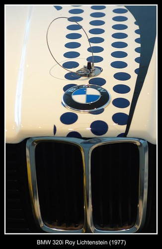 BMW 320i Roy Lichtenstein (1977)