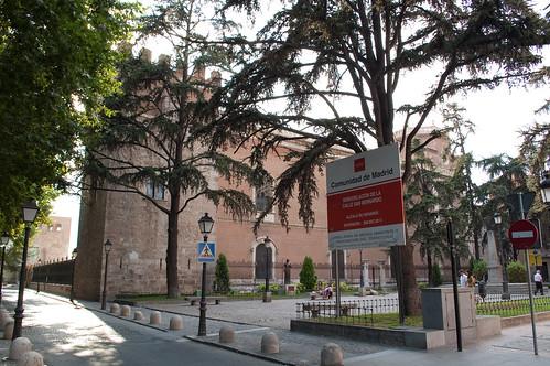Plaza de las Bernardas y palacio arzobispal en la actualidad