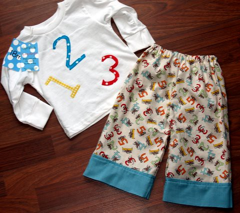 Totally adorable little boy set