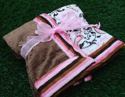 Pretty Paisley Baby Blanket