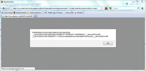 XSS on Mozilla
