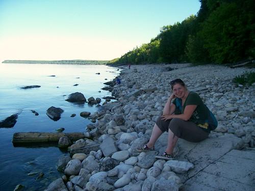 Me at Georgian Bay/ Niagara Escarpment