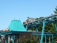 Cedar Point - Demon Drop Broken Down