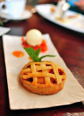 Organic White Peach Lemongrass Pie