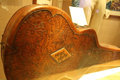 Gene Autry and I both like tooled leather