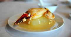 Steamed Whole Fresh Crab Claw (冬瓜蒸蟹鉗)