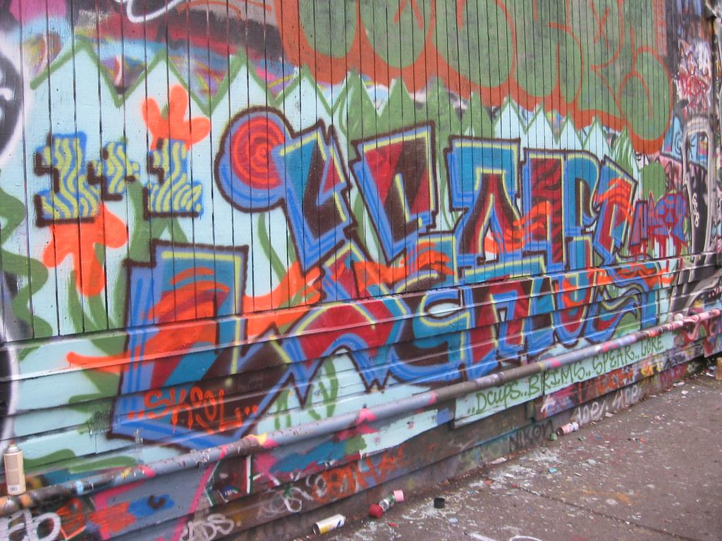 jeans graffiti nasty