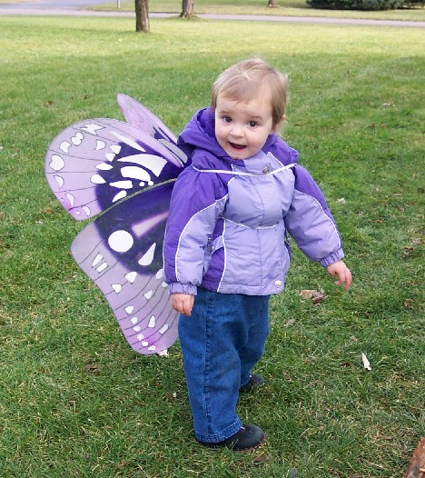 Ava as a Butterfly