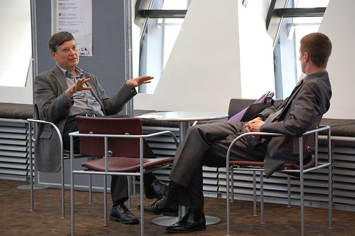 John Sloman of the Economics Network in conversation with Robert Chote of the Institute for Fiscal Studies