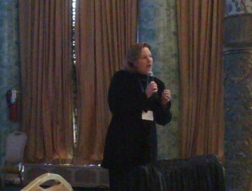 Kim dedeker speaks at esomar chicago