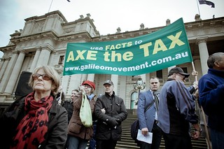 Anti Carbon Tax Rally, Melbourne
