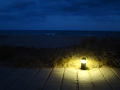 Light in the night (Castelldefels)