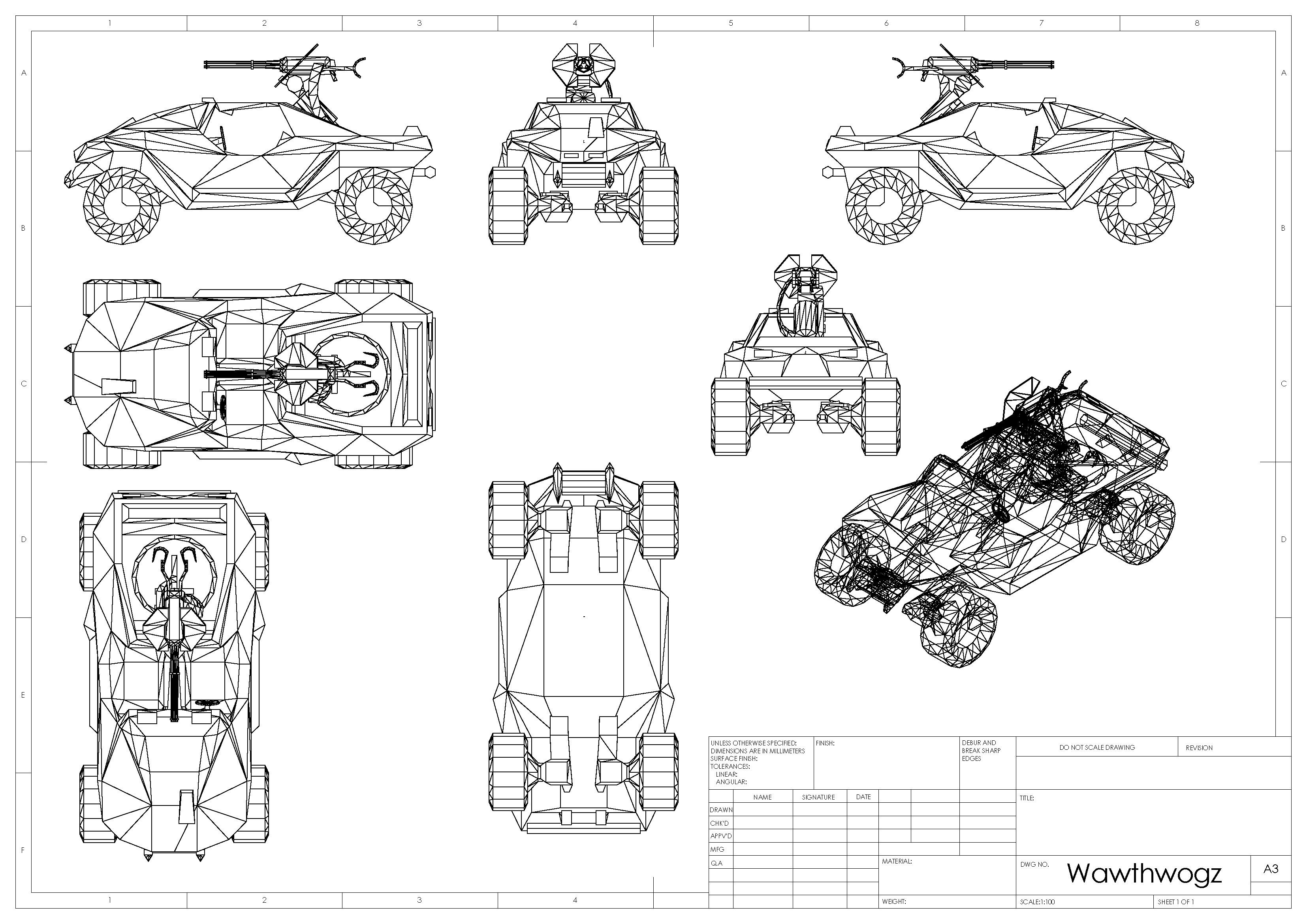 Warthog Blueprints