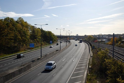 The M1 at Hendon