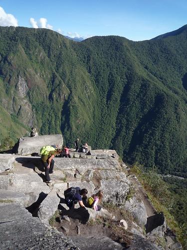 lo alto del Wayna Picchu