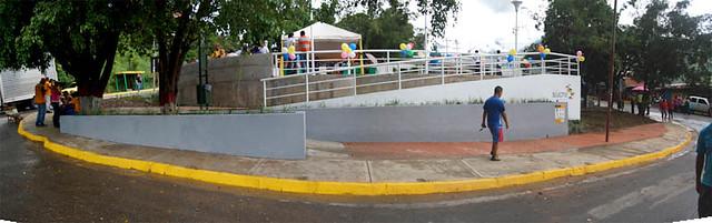 Inauguración Plaza Negro Primero, Caucagüita