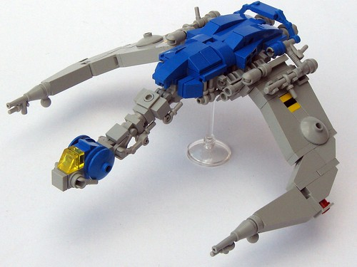 LEGO Neo-Classic Space micro ship