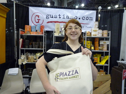 At the Gustiamo booth