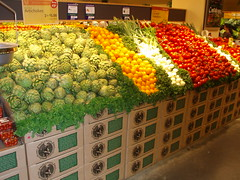 Inside the health food supermarket on Union Square