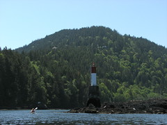 Bowen Island Kayak, 23 May 2009