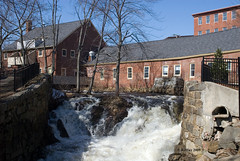 Spring Run-off in March - Amesbury MA