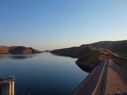 A tiny part of Lake Argyle
