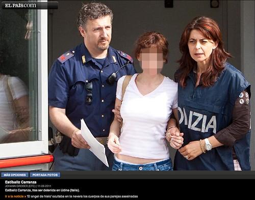 Foto elpais.com sobre el caso viuda negra