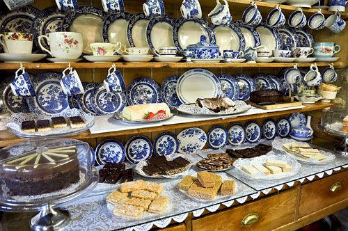 3743568267_5c2287bdfb_o King John's Hunting Lodge Tea House  -  Lacock Wiltshire, UK UK West Country  UK Tea Sweets Somerset Food