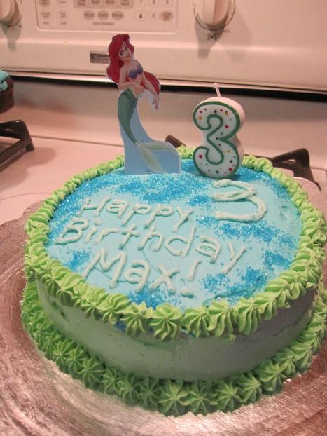 Maxine's 3rd Birthday Cake
