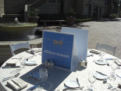 ShareASale ThinkTank Affiliate Summit Table