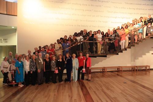 Volunteers at the Womens Museum, Texas. Museums love volunteers - please allow Wikipedians to volunteer too!