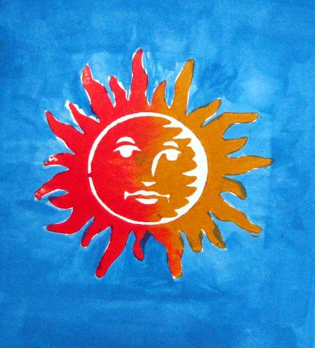 Blazing Sun - Before
