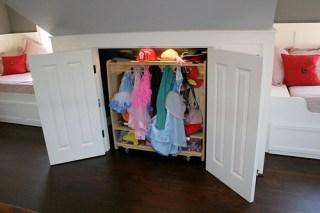 Kid's closet