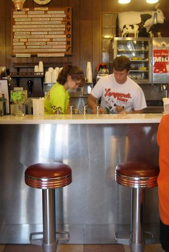 Longacre's Ice Cream Bar