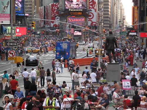 Times Square Pedestrian Zone