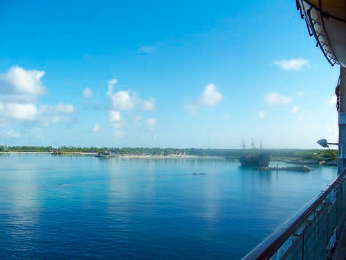 Castaway Cay (from the ship)