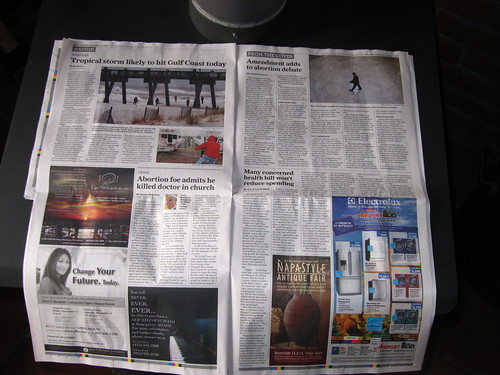 SF Chronicle - Inside Color Ads