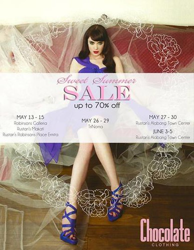 Chocolate Clothing's Summer Sale