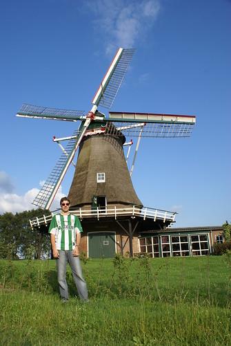 Banfileño bij Zwiepse molen.