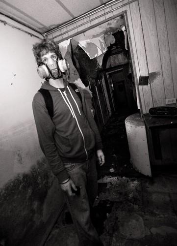 Pete the Urban Explorer.