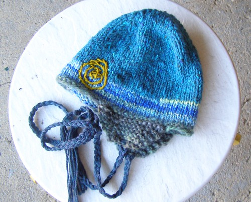 winter moon earflap hat