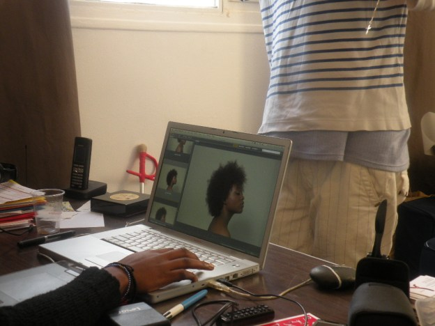 OUR FIRST SHOOT BACKSTAGE 168