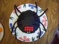 Tarantula Cake