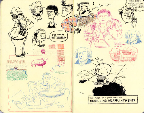 SKETCHBOOK SPREAD | Pages 66-67 by DHARBIN!.