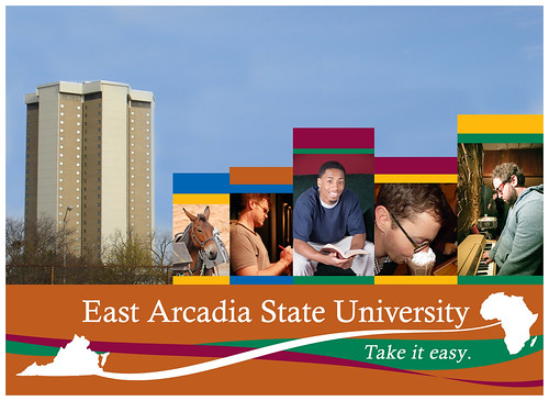 East Arcadia State University Welcomes You!