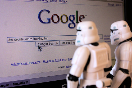 The droids we're googling for